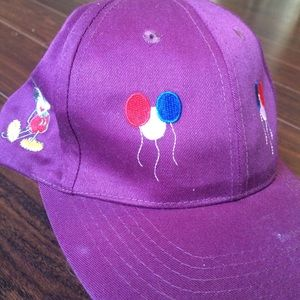 Disney Purple Mickey Mouse Snap Back Sample Hat OS